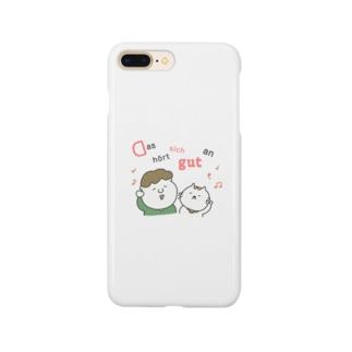 Das hört sich gut an: ドイツ語イラストグッズ Smartphone cases