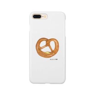 プレッツェル Smartphone cases