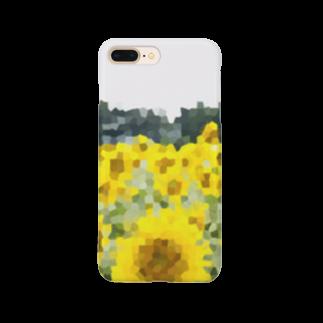 YOBULLCOの向日葵 Smartphone cases