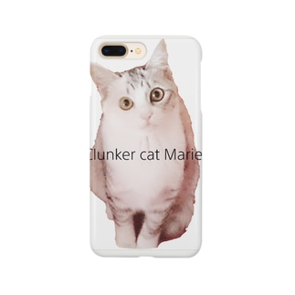 Clunker cat Marie Smartphone cases