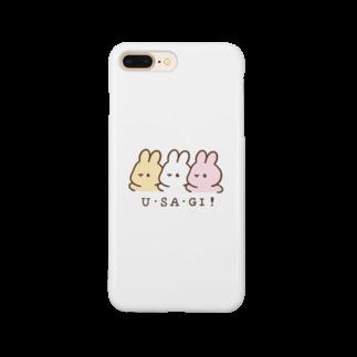 くぅもんせのお店のU・SA・GI! Smartphone cases