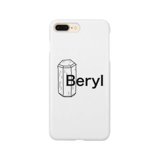 ベリルの結晶原石の晶癖 Smartphone cases