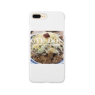 牛丼 Smartphone cases