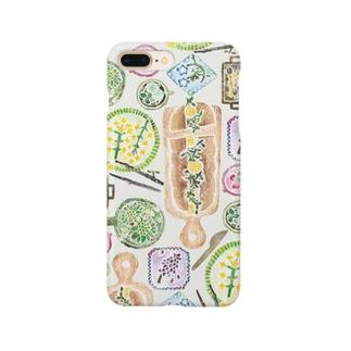 春のごちそう(ごちそう) Smartphone cases