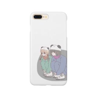 熊猫倶楽部 Smartphone cases