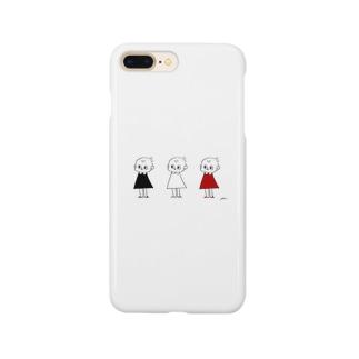 3人のピッちゃん Smartphone cases