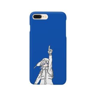 コバルトブルー Smartphone cases