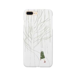 森でローラースケート Smartphone cases
