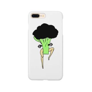 筋トレブロコリー太郎 Smartphone cases