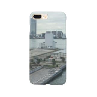 大阪港の景色プリント スマートフォンケース