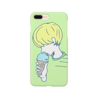 アイス女 Smartphone cases