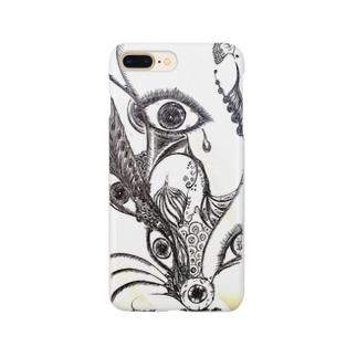 見つめる目 Smartphone cases