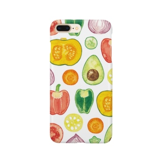 ベジタリアンiPhoneケース Smartphone cases