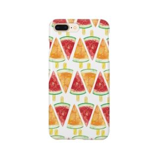 アイスキャンディーiPhoneケース(ver.2) Smartphone cases