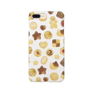 クッキー柄iPhoneケース Smartphone cases