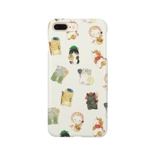 猫福神iPhoneケース Smartphone cases