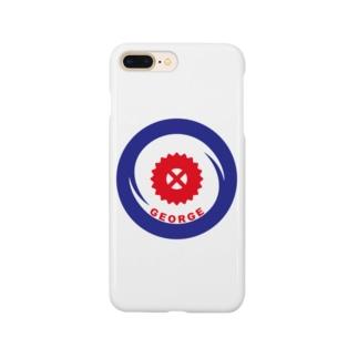 パ紋No.3338 GEORGE Smartphone cases