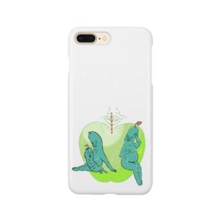 くつろぎあおりんご Smartphone cases