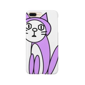 キャッツパープル Smartphone cases