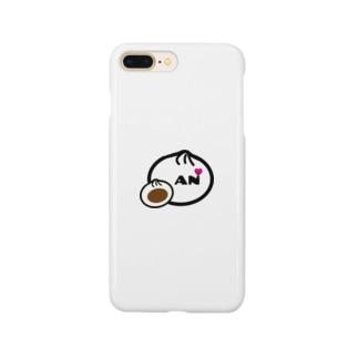 あんまん&Heart Smartphone cases
