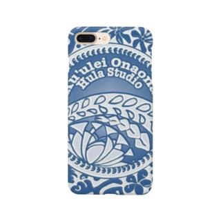 クレオナロゴ ブルー Smartphone cases