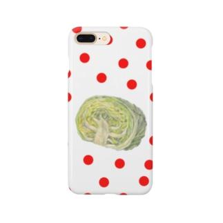 キャベツ&ドットⅡ Smartphone cases