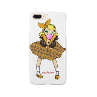 ロカビリーガールⅡ【orange】 Smartphone cases