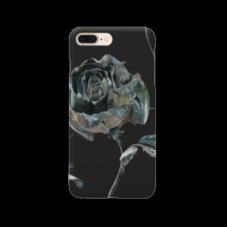 ARTLyのBLACK ROSE ONE Smartphone cases
