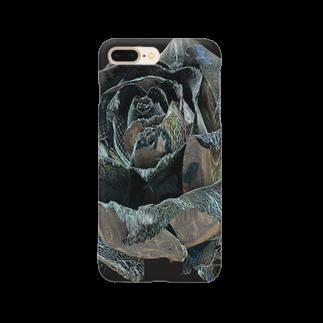 ARTLyのBLACK ROSE ONE - up Smartphone cases