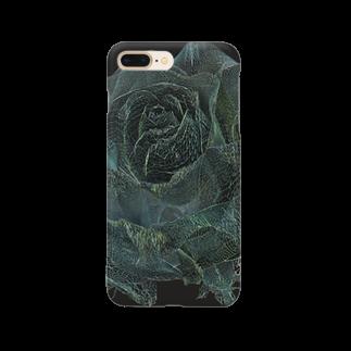 ARTLyのBLACK ROSE ONE - wir - up Smartphone cases