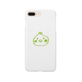 うららかぴよ美ちゃん Smartphone cases