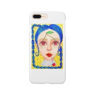 チェリーガール🍒 Smartphone cases
