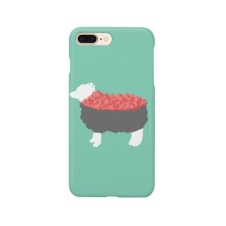 ひつじ寿司 -susheep- Smartphone cases