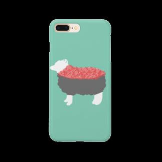 お寿司のひつじ寿司 -susheep- Smartphone cases