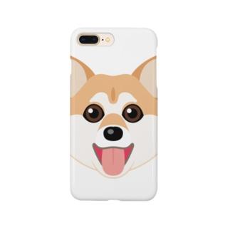 かわいい柴犬 Smartphone cases