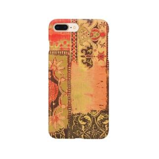 エキゾ柄柄 Smartphone cases