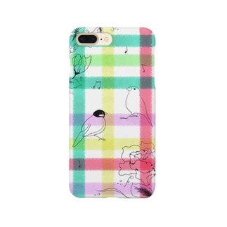 文鳥の春 Smartphone cases