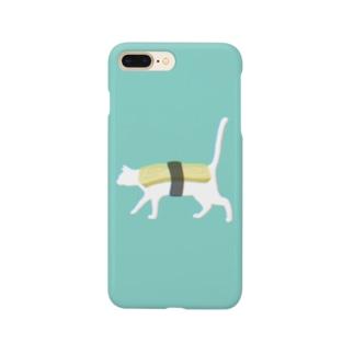 ネコ寿司 - neko sushi tamago - Smartphone cases
