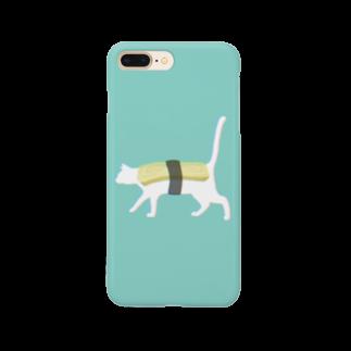 お寿司のネコ寿司 - neko sushi tamago - Smartphone cases