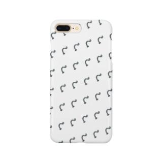 えび反りするチンアナゴ(ミニ) Smartphone cases