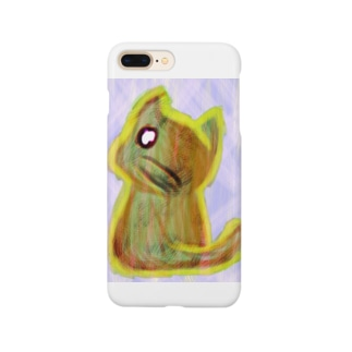 物憂げなネコ Smartphone cases