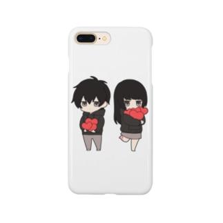 無気力カップル Smartphone cases