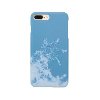 雪の結晶 Smartphone cases