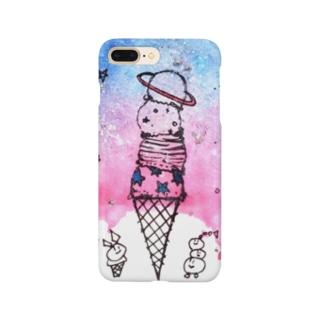 planet icecream Smartphone cases