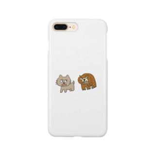 ねことくまこ Smartphone cases