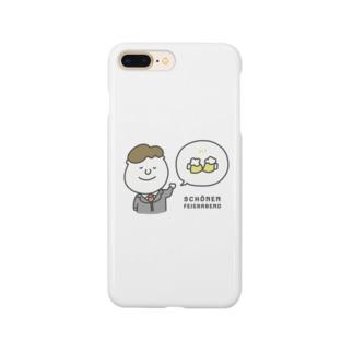 Schönen Feierabend : ドイツ語イラストグッズ Smartphone cases