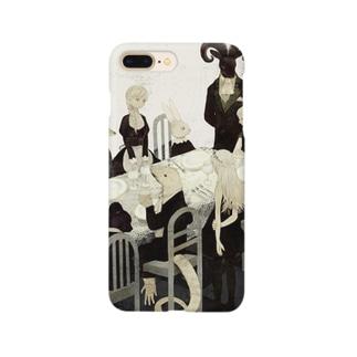 黒のお茶会 Smartphone cases