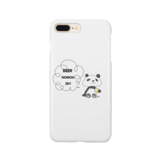 酒好きパンダ Smartphone cases