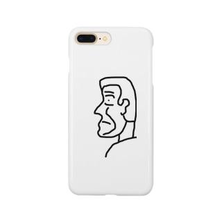 横顔さん Smartphone cases
