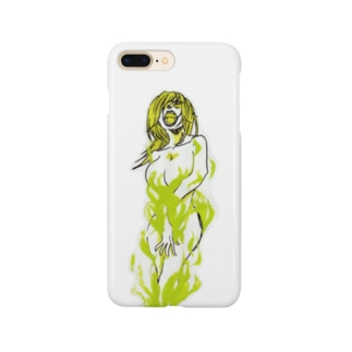 Green Fire Smartphone cases